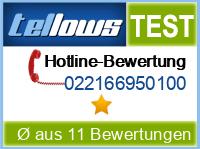 tellows Bewertung 022166950100