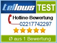tellows Bewertung 02217742297