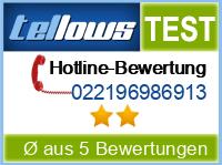 tellows Bewertung 022196986913