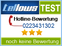tellows Bewertung 0223431302