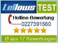 tellows Bewertung 0227391560