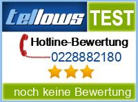 tellows Bewertung 0228882180