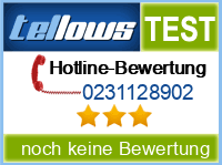 tellows Bewertung 0231128902