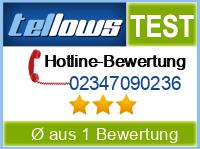 tellows Bewertung 02347090236