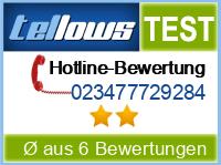 tellows Bewertung 023477729284