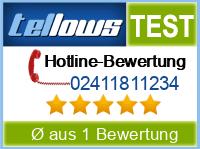 tellows Bewertung 02411811234