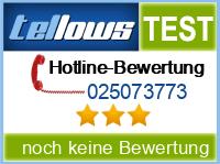 tellows Bewertung 025073773
