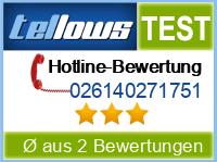 tellows Bewertung 026140271751