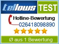 tellows Bewertung 026418098890