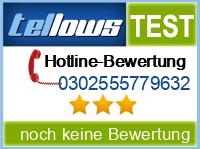 tellows Bewertung 0302555779632