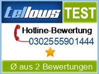 tellows Bewertung 0302555901444