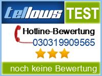 tellows Bewertung 030319909565