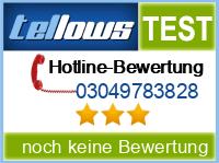 tellows Bewertung 03049783828