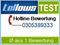 tellows Bewertung 0305389333