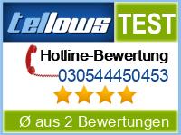 tellows Bewertung 030544450453
