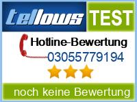 tellows Bewertung 03055779194