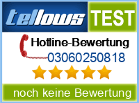 tellows Bewertung 03060250818