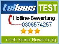 tellows Bewertung 0306574257