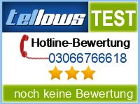 tellows Bewertung 03066766618