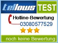 tellows Bewertung 03080577529