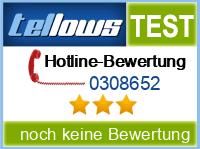 tellows Bewertung 0308652