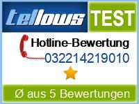tellows Bewertung 032214219010