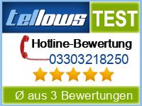 tellows Bewertung 03303218250