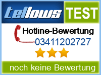 tellows Bewertung 03411202727