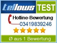 tellows Bewertung 03419839246