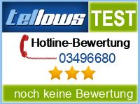 tellows Bewertung 03496680