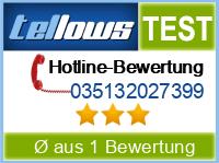 tellows Bewertung 035132027399