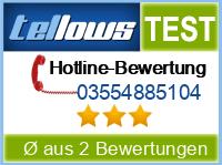 tellows Bewertung 03554885104