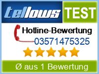 tellows Bewertung 03571475325