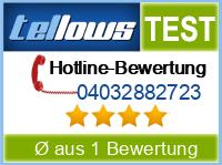 tellows Bewertung 04032882723