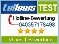 tellows Bewertung 040357178498