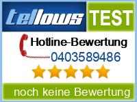 tellows Bewertung 0403589486