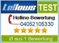 tellows Bewertung 04052105330