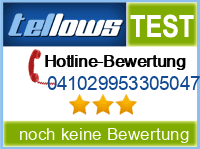 tellows Bewertung 041029953305047
