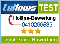 tellows Bewertung 0410299533