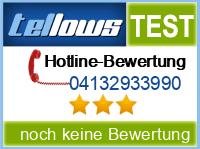 tellows Bewertung 04132933990