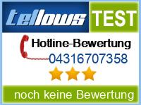 tellows Bewertung 04316707358