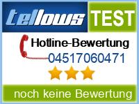 tellows Bewertung 04517060471