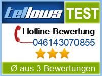 tellows Bewertung 046143070855