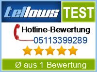 tellows Bewertung 05113399289