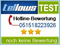 tellows Bewertung 051518223926