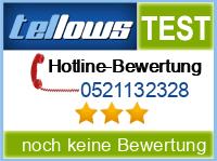 tellows Bewertung 0521132328