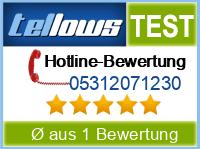 tellows Bewertung 05312071230