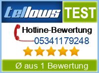 tellows Bewertung 05341179248