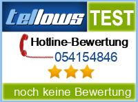 tellows Bewertung 054154846