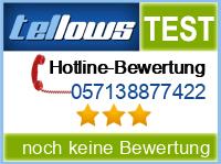 tellows Bewertung 057138877422